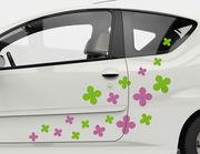 Autoaufkleber Blütezeit