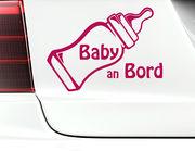 "Autoaufkleber ""Babyflasche"": Wonneproppen willkommen an Bord"