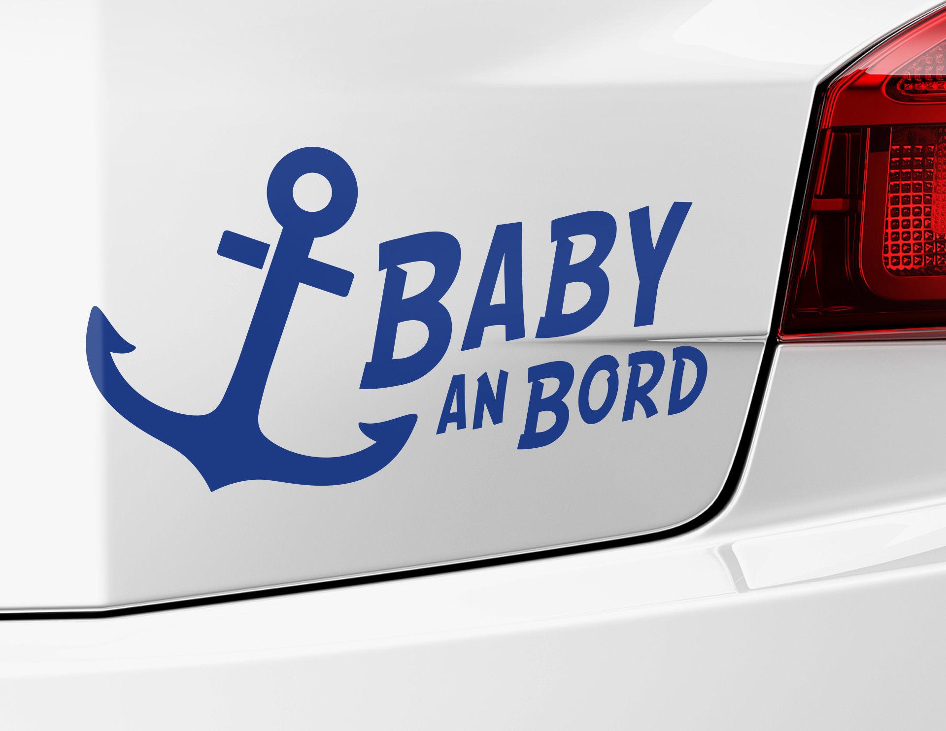 Autoaufkleber Baby an Bord
