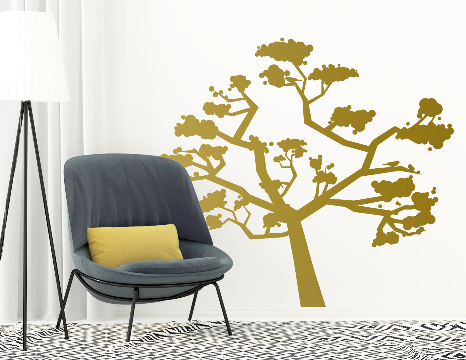 Wandtattoo Baum der Dankbarkeit