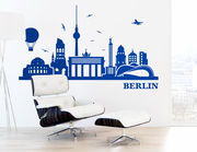 "Wandtattoo ""Berliner Skyline"" zeigt Highlights"