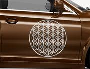Autoaufkleber Blume des Lebens