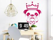 Wandtattoo Bulldogge Churchill für alle Hundefans