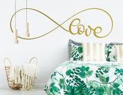 """Wandtattoo """"Calligraphy Love"""" fürs unendliche Liebe"""