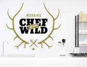 Wandtattoo Chef gone wild