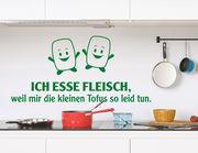 """Wandtattoo """"Kleine Tofus"""" einfach zu süß zum Essen"""