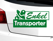 """Autoaufkleber """"Enkel-Transporter"""" für Oma und Opa"""
