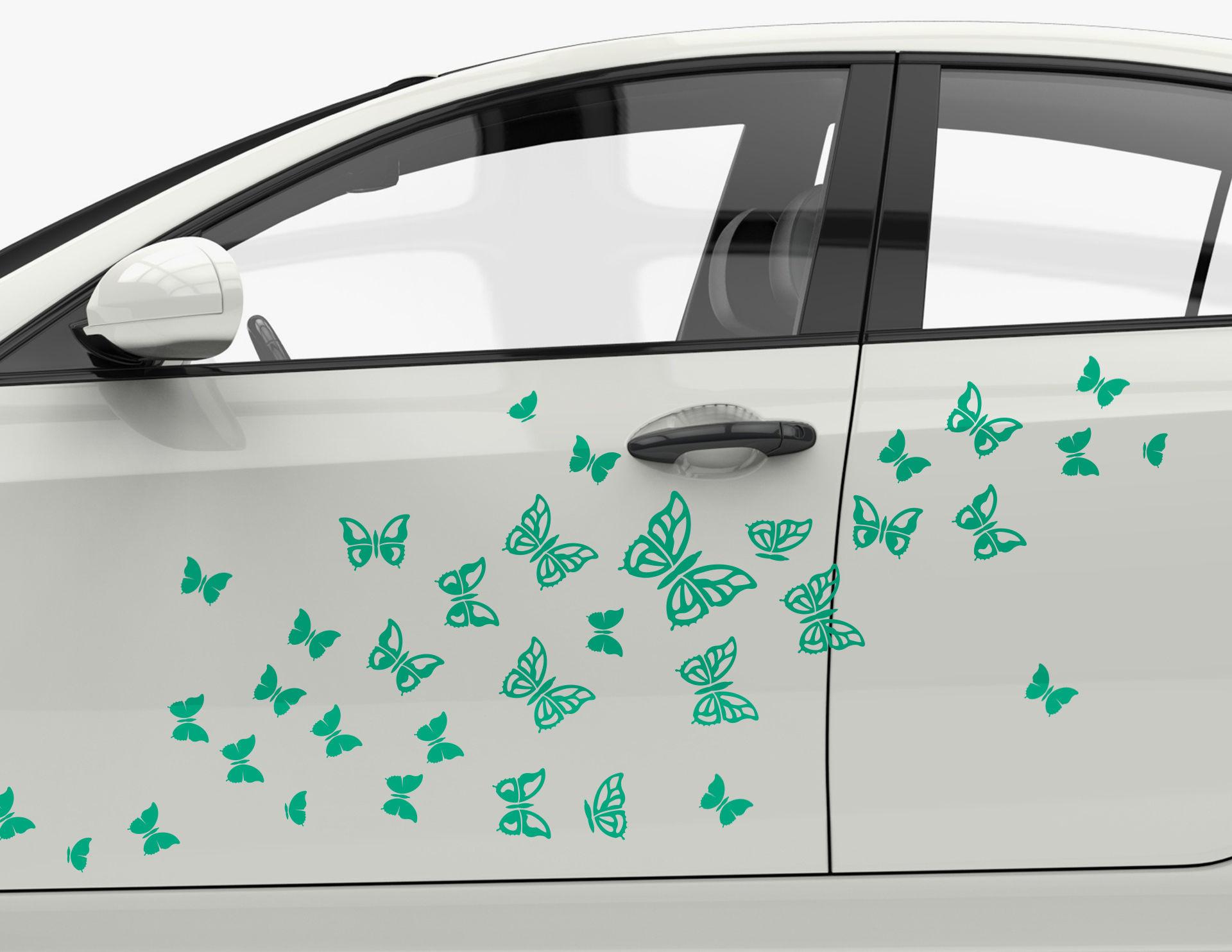Autoaufkleber Falter Fantasie