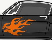 Autoaufkleber Fancy Flames-Set