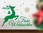 Wandtattoo Frohe Weihnachten #01