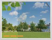 Sonnenschutzfolie SilverPro Ultra als Rollenware - Sicht von Innen nach Außen