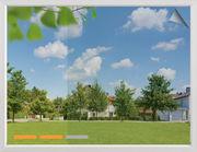 Sonnenschutzfolie mittlere Spiegelung als Rollenware -  Sicht von Innen nach Außen