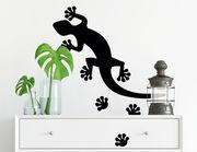 Wandtattoo Geckosteps