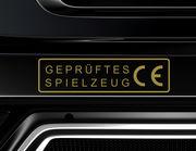 """Autoaufkleber """"Geprüftes Spielzeug"""" Auto CE-Kennzeichnung"""
