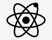 Atom - Aufkleber für Gewerbe