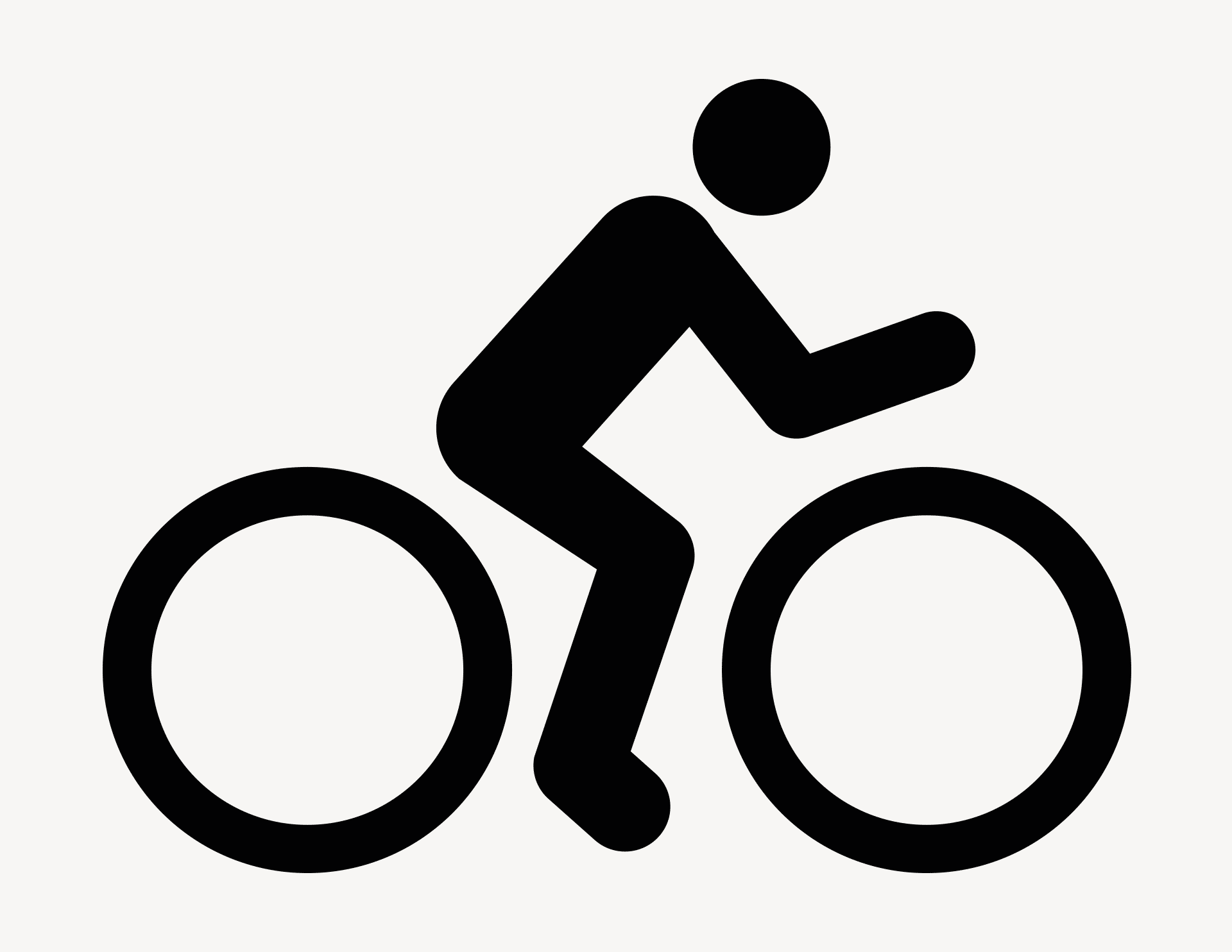 Aufkleber Fahrrad