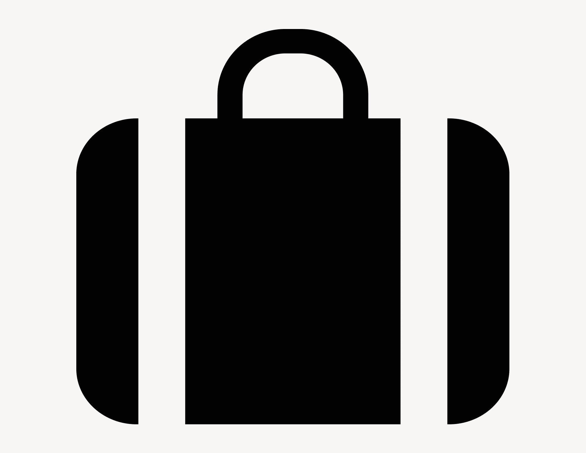 Koffer - Aufkleber für Gewerbe