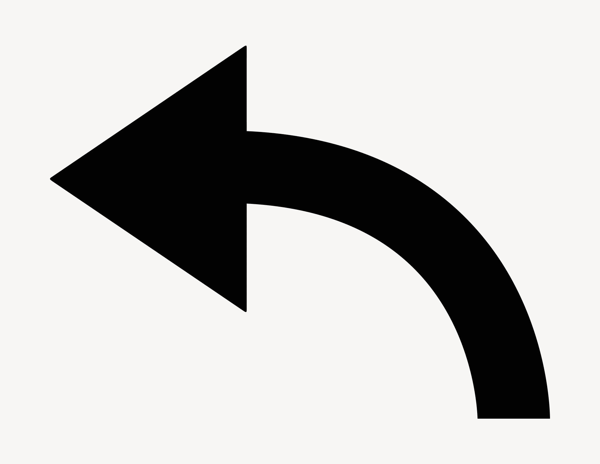 Pfeil Finn-Bogen links - Aufkleber für Gewerbe