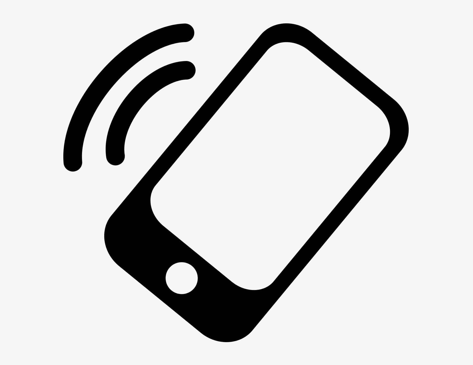 Phone ringing - Aufkleber für Gewerbe