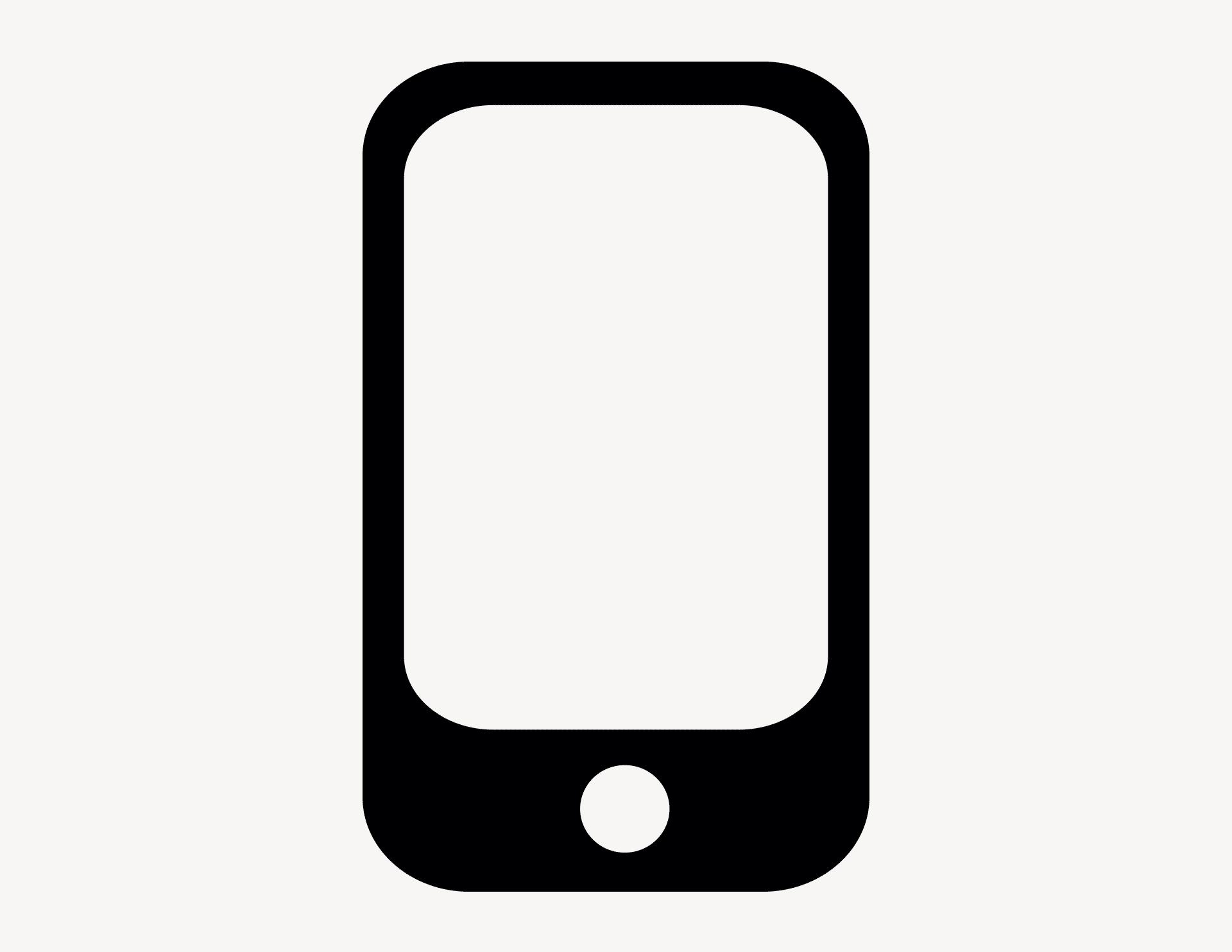 Smartphone - Aufkleber für Gewerbe