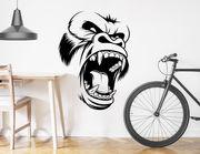 """Wandtattoo """"Angry Gorilla"""" für Wildlife & Dschungel-Feeling"""