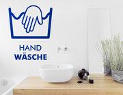 """Tollen Dekoration für's Badezimmer: Wandtattoo """"Handwäsche"""""""