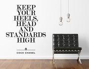 Wandtattoo High Standards