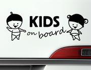 """Autoaufkleber """"Kids on Board"""" macht Kindern und Eltern Spaß"""