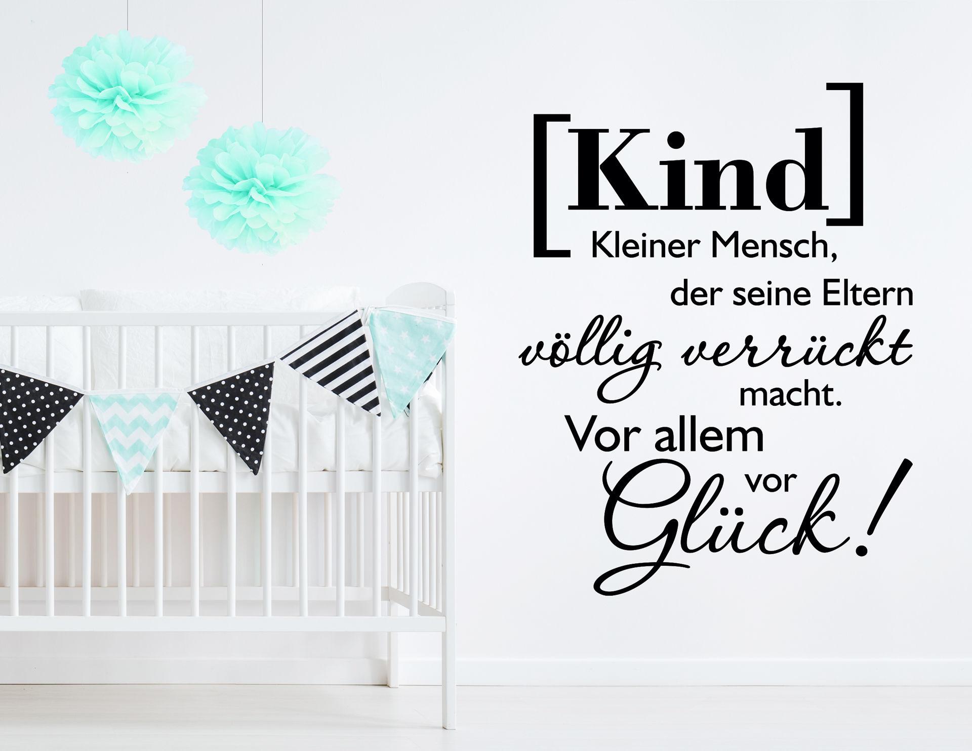 "Wandtattoo ""Kinderglück"" definiert Glück neu"