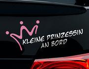 Autoaufkleber Kleine Prinzessin