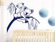"""Wandtattoo """"Koalas Kim und Karl"""" für Tierfans"""