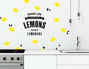 Wandtattoo Lemonade