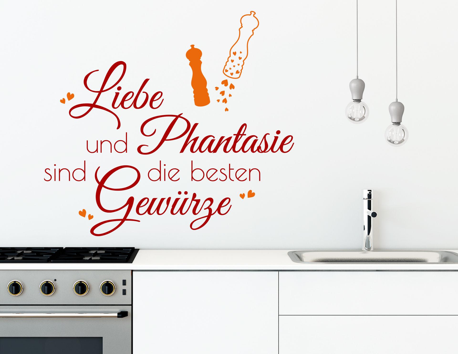 Wandtattoo Liebe & Phantasie