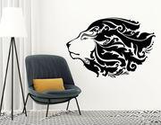 """Wandtattoo """"Lion Deluxe"""" ein schmuckvolles Löwen-Ornament"""
