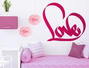 """Wandtattoo """"Graffiti Heartbeat"""" im modernen Stil"""