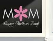 Aufkleber für's Schaufenster – Happy Mother's Day