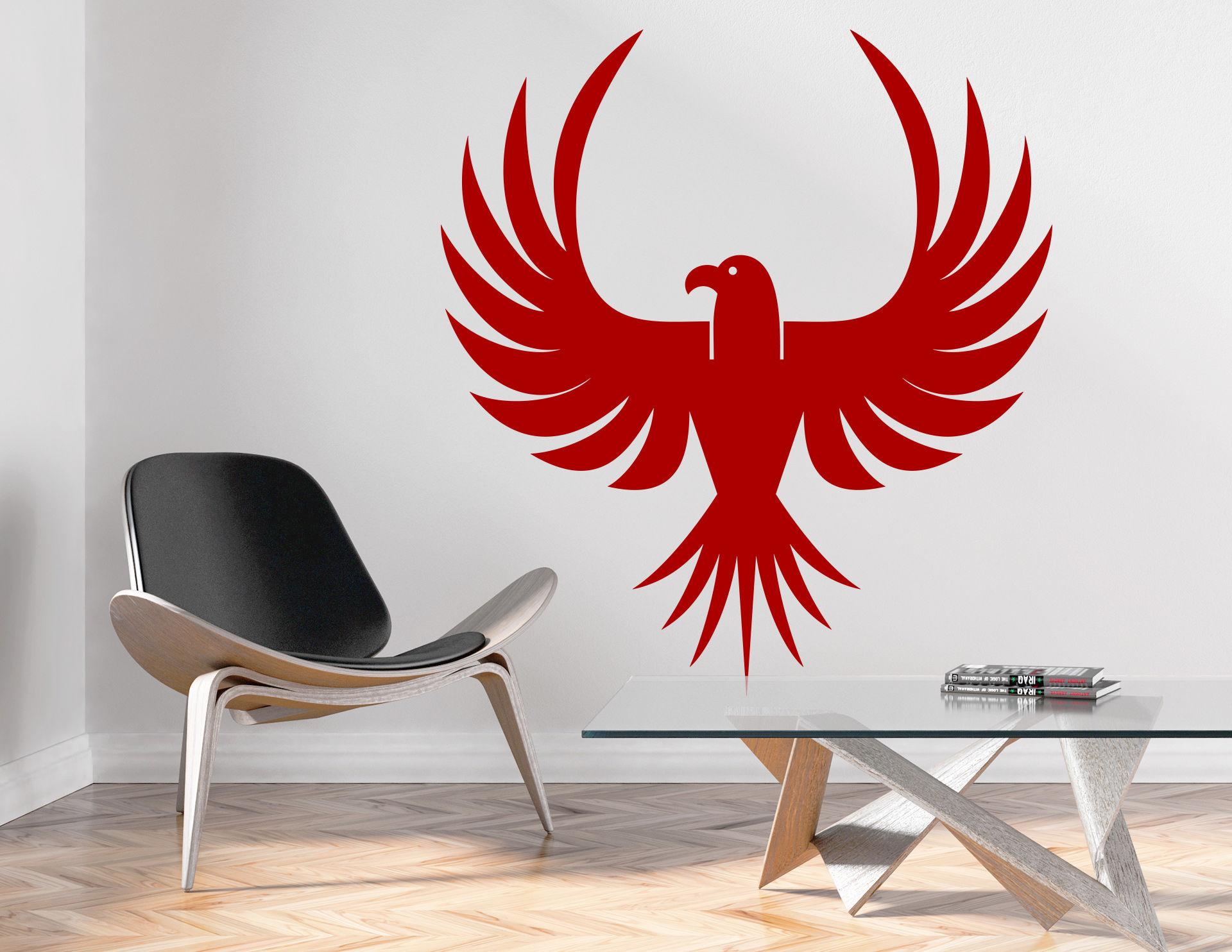 Wandtattoo Native American Eagle #03