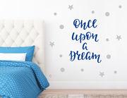 """Wandtattoo """"Once upon a Dream"""" … es war einmal ein Traum"""
