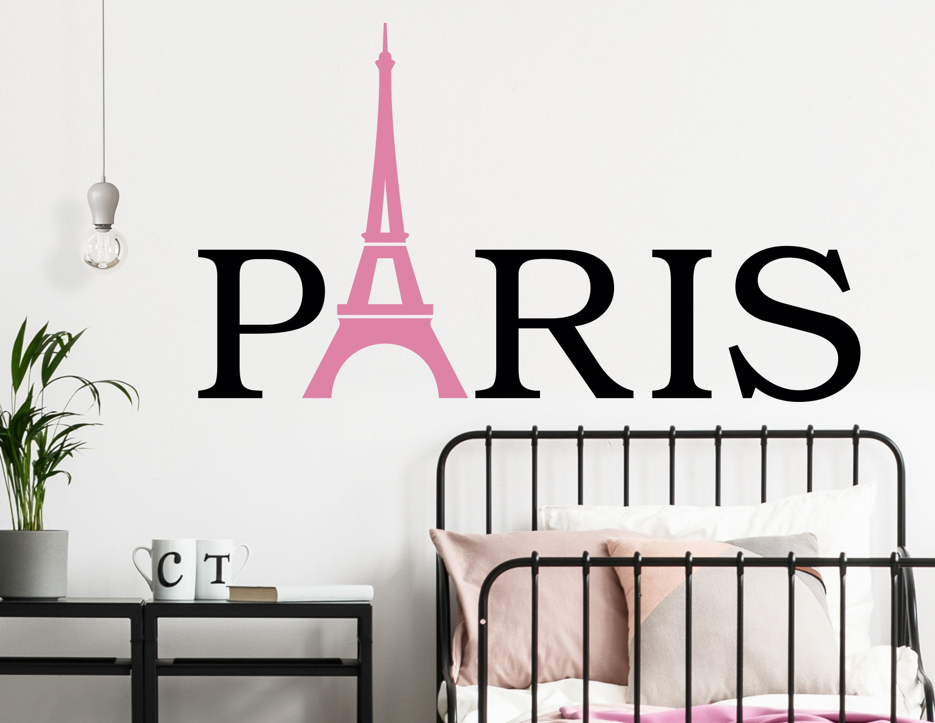 Wandtattoo Paris City Name
