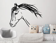 """Wandtattoo """"Pferd Ebony"""" für Pferdefreunde"""