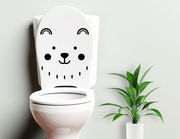 Candy - lustiger WC-Aufkleber für Kinder