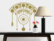Schönes Jugendstil-Design: Wandtattoo Art Nouveau - Couronne