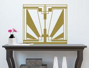 Art Nouveau - Ouverture, Wandtattoo im Jugendstil-Design