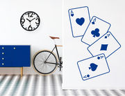 """Wandtattoo """"Pokerblatt"""" für den Gambler in Dir"""