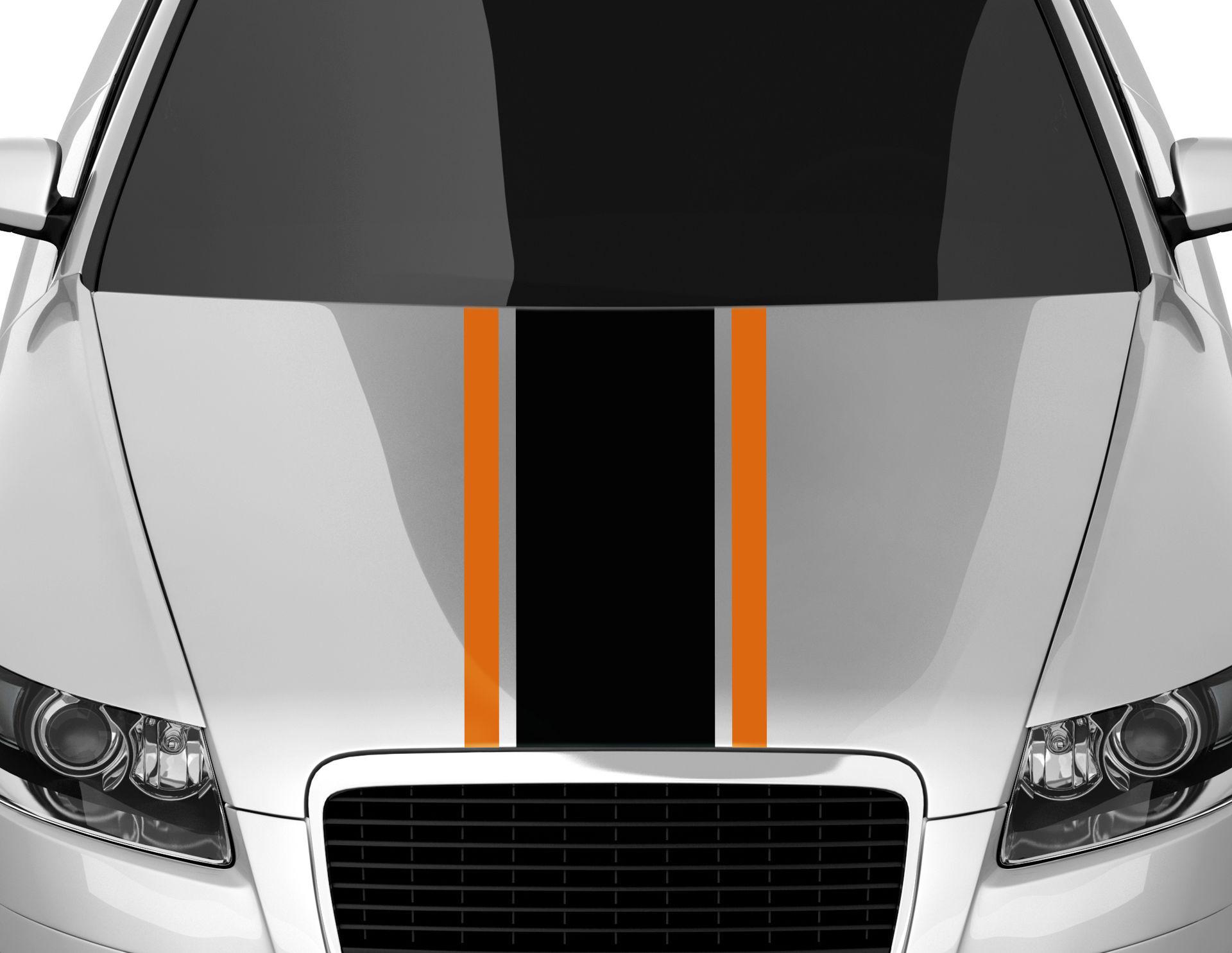 Autoaufkleber Racing Stripes #5
