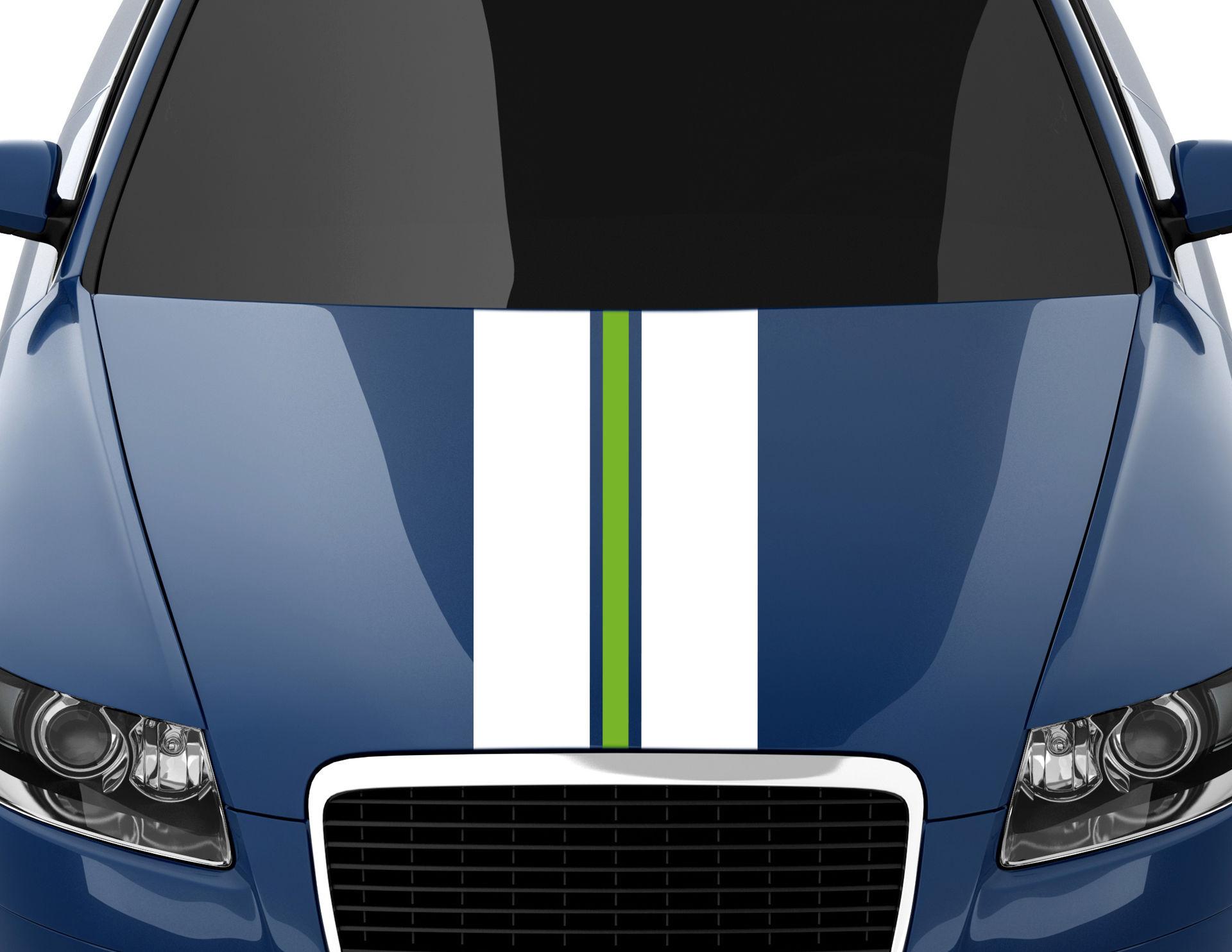 Autoaufkleber Racing Stripes #6