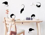 """Wandtattoo """"Ratten Chat"""" zeigt niedliche Tiere"""