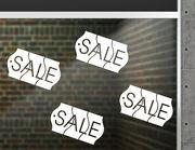 """Aufkleber """"Sale Price Tag"""" für Schlussverkauf und Co."""