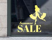 Aufkleber Summer Sale