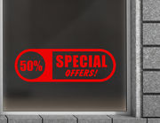 Aufkleber Special Offers